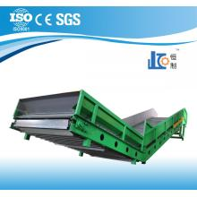 Horizontal hydraulic  baler machine conveyor
