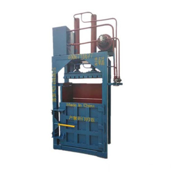 waste paper vertical hydraulic baler machine