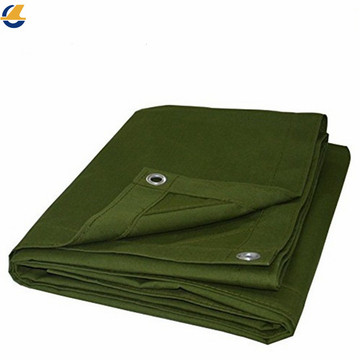 Water Resistant Polyester Canvas Tarps