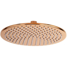 Oval Ultra thin Brass Shower Head in 7mm thickness