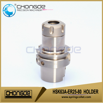 HSK63A-ER25-80 Ultra accuracy CNC Machine Tool Holder