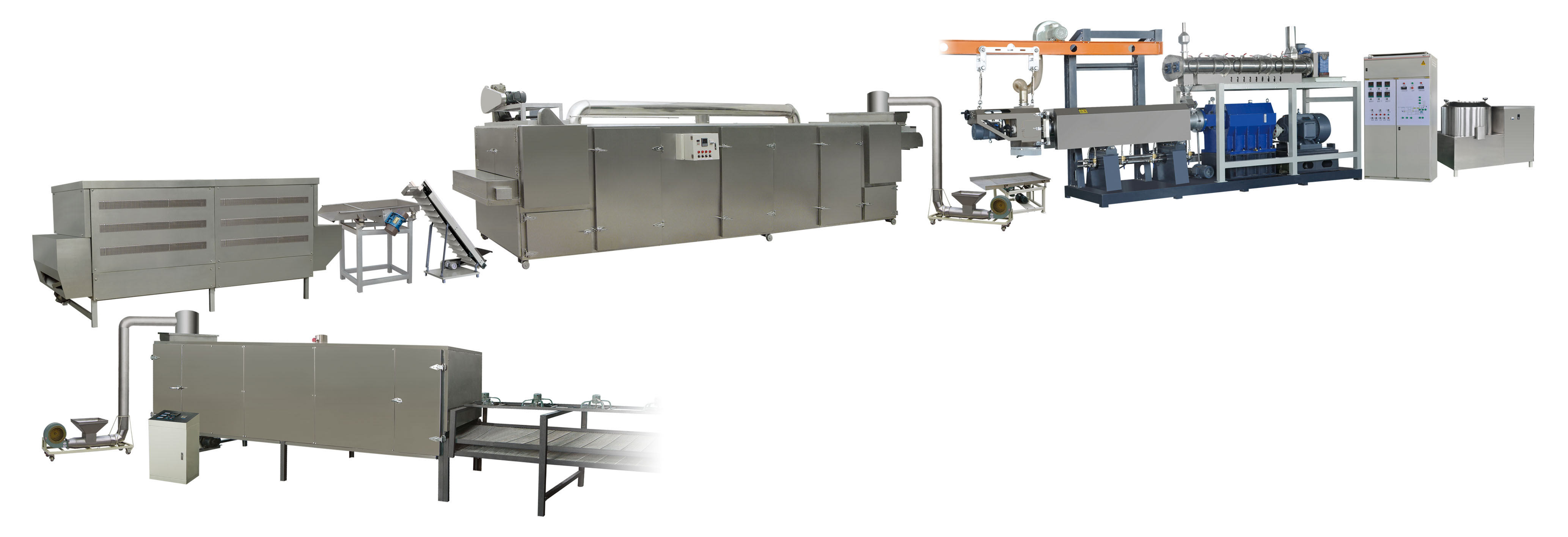 Automatic instant porridge production machine
