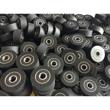 Custom Urethane Roller Bearing Coat Covered Bearings