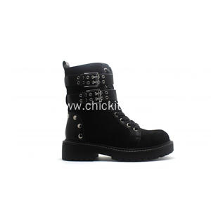 Fashion Ladies Boots Clasping Martin Boots