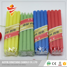 Home decoration light color candle