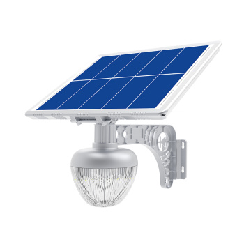 Solar energy golden peach light