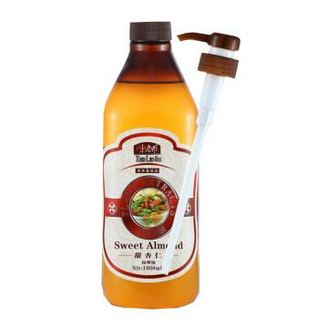 1000ML Sweet almond oil base oil moisturizing massage oil Scraping