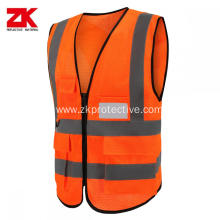 100% polyester reflective vest wholesale price