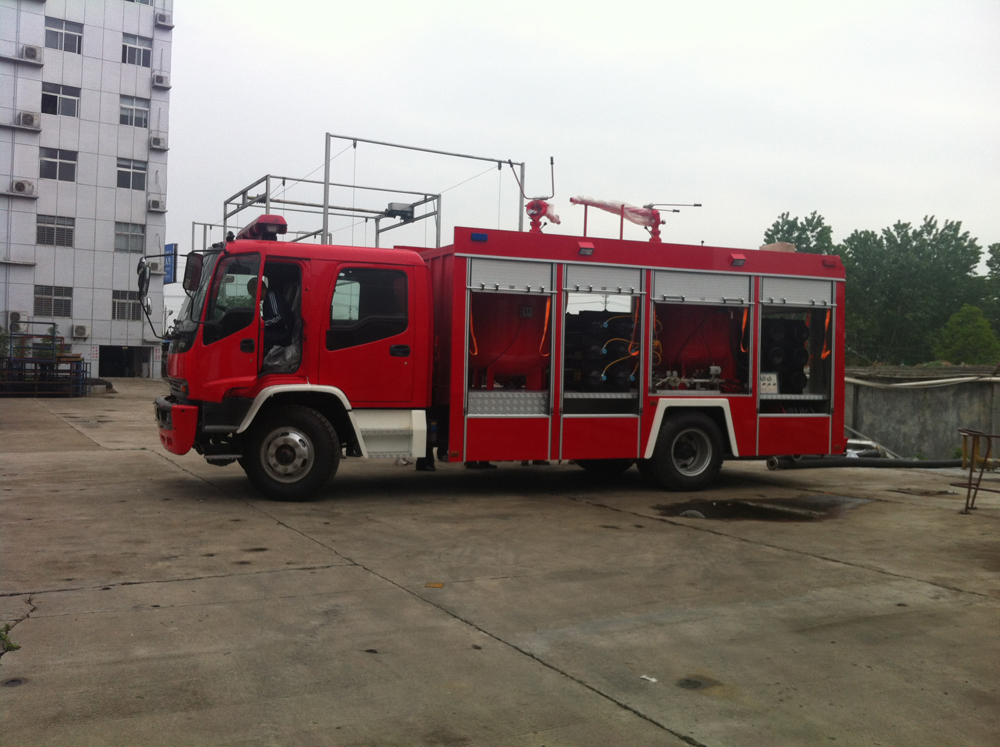 Powder fire truck 4
