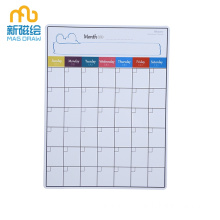 Fridge Magnetic Dry Dry Wipe Weekly Planner