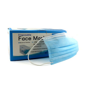 Vanecia Disposable 3 ply Protective Earloop Face Masks