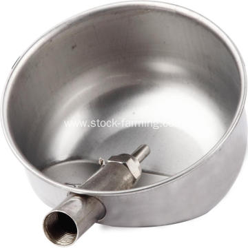 Stainless steel water cup for pig drinking bowl