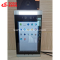 Face recognition temperature measurement tablet