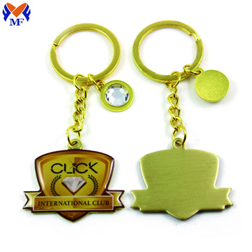 Metal Custom Printed Epoxy Keychain In Bulk