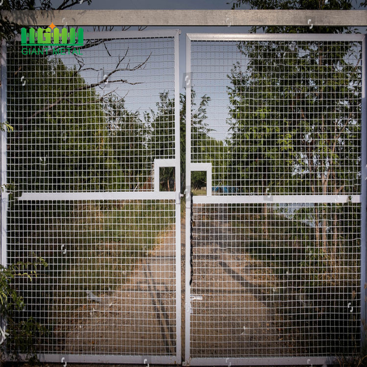 Hot dipped fence gate