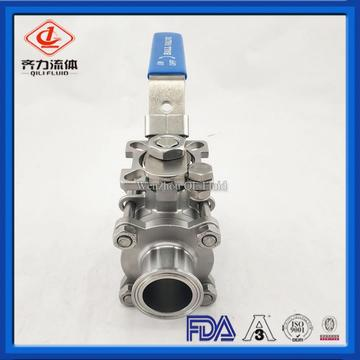 Sanitary Encapsulated Clamp End Ball Valve
