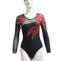 Mesh Sleeve Leotards Dance Competition