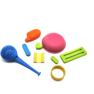 Custom various of colors rubber parts
