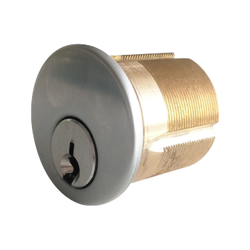 Round Mortise Brass Door Lock Cylinder