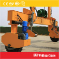 Rubber Tyre Track Laying Machine