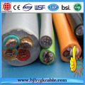450 / 750V Natural Rubber Insulation Aramid Rope Lift Cable