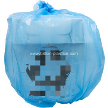 HDPE Refuse Sacks in Blue
