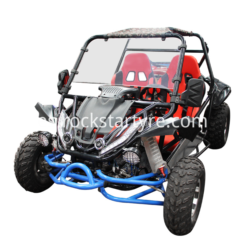 Factory Direct Sale Go Karts With Double Seats