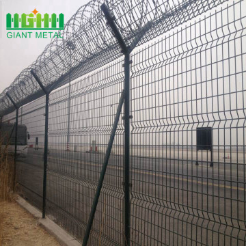 Anti Climb Fence Security Airport Barbed Wire Fence