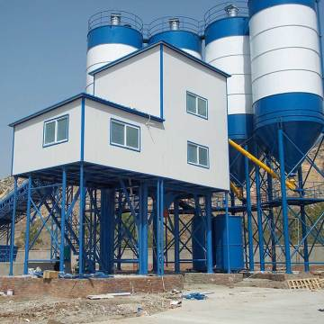 120m3/h stationary concrete mixing batching plant price