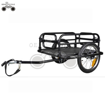 16' wheels-quick release PE large cargo bike trailer