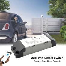 WiFi+RF Smart Garage Door eWelink APP Remote Control Open Close Compatible With Alexa Echo Google Home No Hub Require