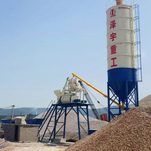 25m3/h Central Control Concrete Batching Plant