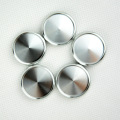 6pcs 38mm Book Binding Supplies Aluminum Binding Discs Mushroom Hole Binder with Metal Disc Binding Loose-leaf Ring Buckle