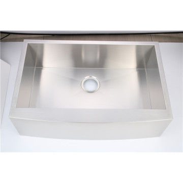 304 Hand-Made Top Mount Sink