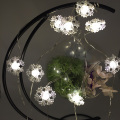 Merry Christmas  led copper light with white snowflake