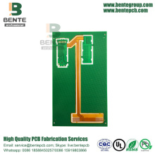 4Layers High-precision Rigid-Flex PCB ENIG