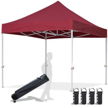 Top on heavy duty pop up gazebo set