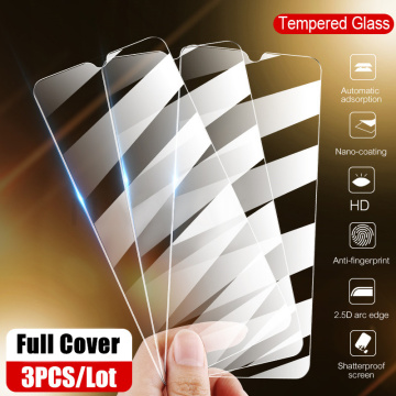 Full Cover Screen Protector Glass For Huawei P30 Pro Tempered Glass P20 Lite Film For Huawei Y5 Y6 Y7 Y9 Prime 2019 Nova 3E 4E