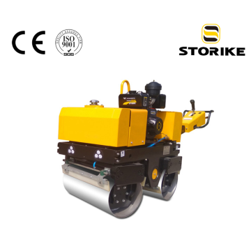 Mini hydraulic compaction vibratory road roller