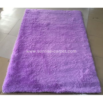 Soft Silk with anti slip backing rug