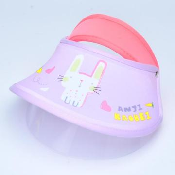 Hospital double protective mask faceshield for children