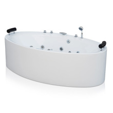 Freestanding Whirlpool Bath Tub with Jet and Air