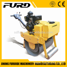 walk-behind single drum 1.5t vibratory paving roller ,soil compactor