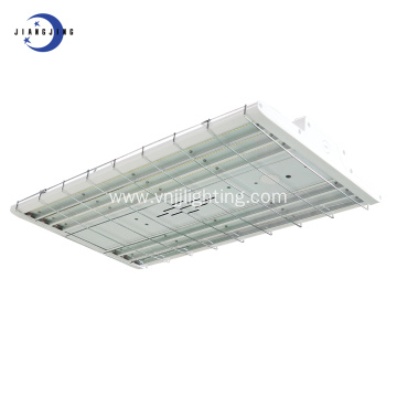 Flat linear led high bay light