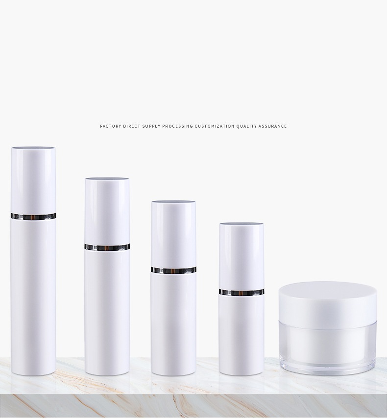 Cosmetic set bottle spray lotion travel divide bottle press type small sample cream bottle (1)