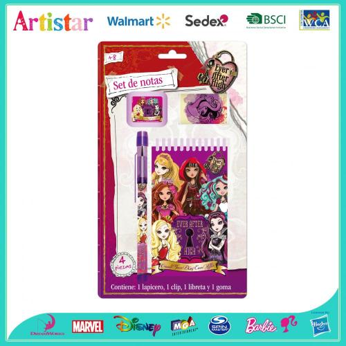 Monster High 4-piece blister card set