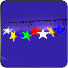RGB Christmas led  kilometer star lights
