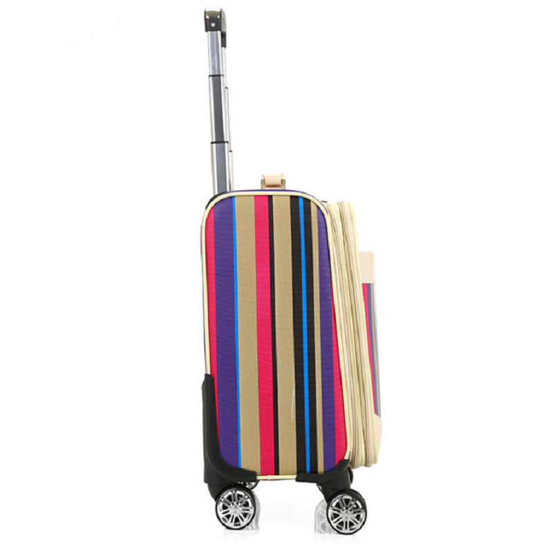 Pu Leather Luggage Suitcase