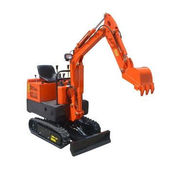 1T mini hydraulic excavator machines