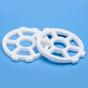 Diamond-like Polished  Alumina Ceramic Sliding Disc